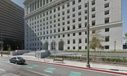 Los Angeles, California by Hall of Justice in Secret in Their Eyes