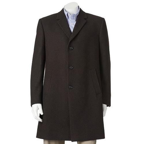 Wool-Blend Overcoat by Billy London in Brooklyn Nine-Nine - Season 3 Episode 8