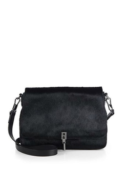 Cynnie Mini Calf Hair Crossbody Bag by Elizabeth & James in The Second Best Exotic Marigold Hotel