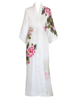 Print Kimono Robe by Old Shanghai in The Flash