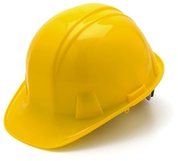 Cap Style 4 Point Snap Lock Suspension Hard Hat by Pyramex Safety in The Walk
