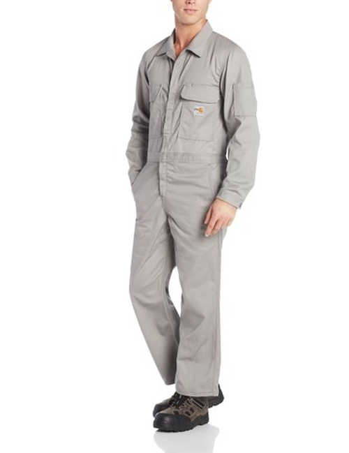 Flame Resistant Traditional Twill Coverall by Carhartt in The A-Team