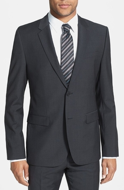 Aerin Extra Trim Fit Wool Blazer by Hugo in Billions