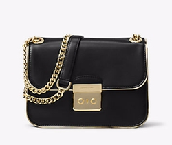Sloan Editor Medium Leather Shoulder Bag by Michael Michael Kors in Fuller House
