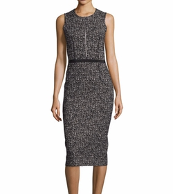 Sleeveless Tweed Sheath Dress by Michael Kors in How To Get Away With Murder
