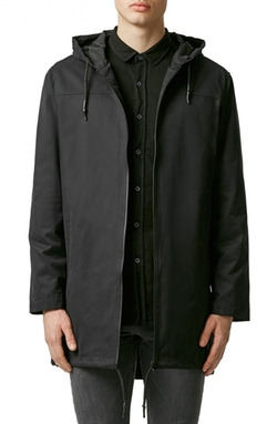 Lightweight Hooded Parka Jacket by Topman in Modern Family