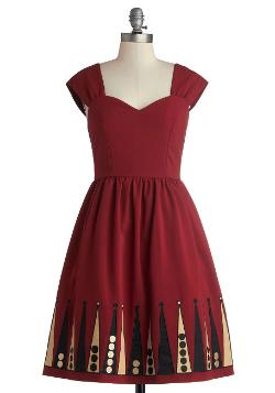 Blockade Party Dress by Bea & Dot in Get On Up