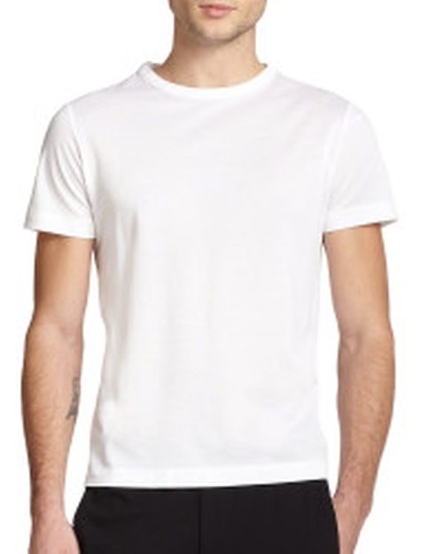 Andrion Mercerized Cotton Pique Tee by Theory in Ashby