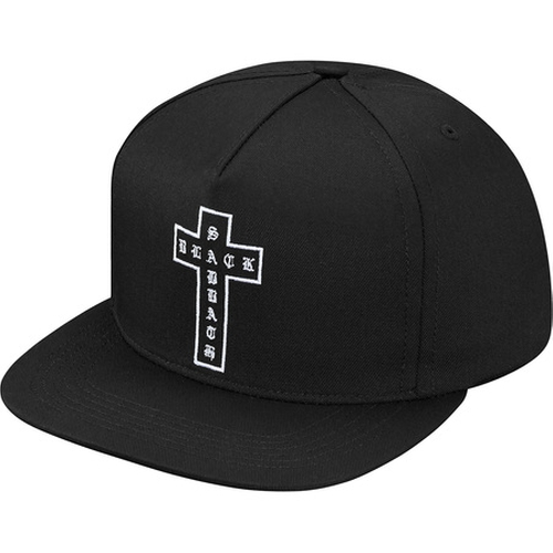 Cross 5-Panel Cap by Supreme X Black Sabbath in Keeping Up With The Kardashians - Season 12 Episode 8