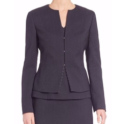 Jafila Stretch-Wool Blazer by Boss in Suits