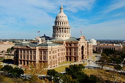 Austin, Texas by Texas State Capitol in My All American