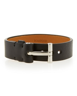 Nashville Leather Bracelet by Tom Ford in We Are Your Friends