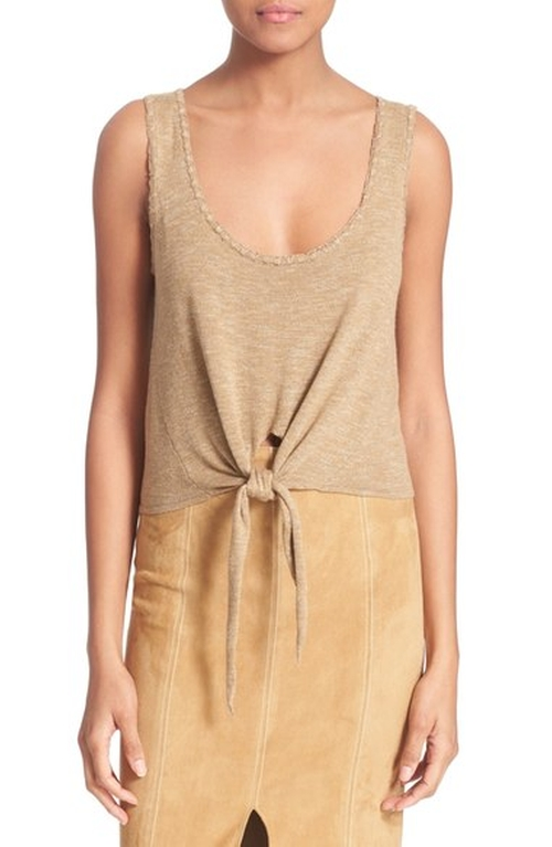 'Jacinda' Crop Tank by Alice + Olivia in The Bachelorette