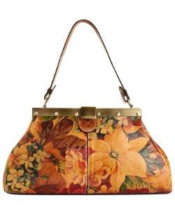 Ferrara Satchel Bag by Patricia Nash in Focus