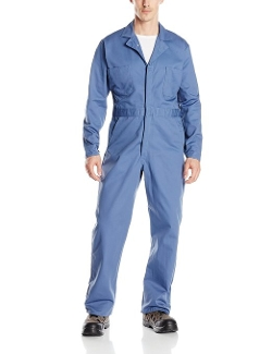 Men's Button Front Cotton Coverall by Red Kap in Me and Earl and the Dying Girl