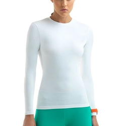 Femme High-Compression Crewneck Workout Tee by Lupo in Nashville