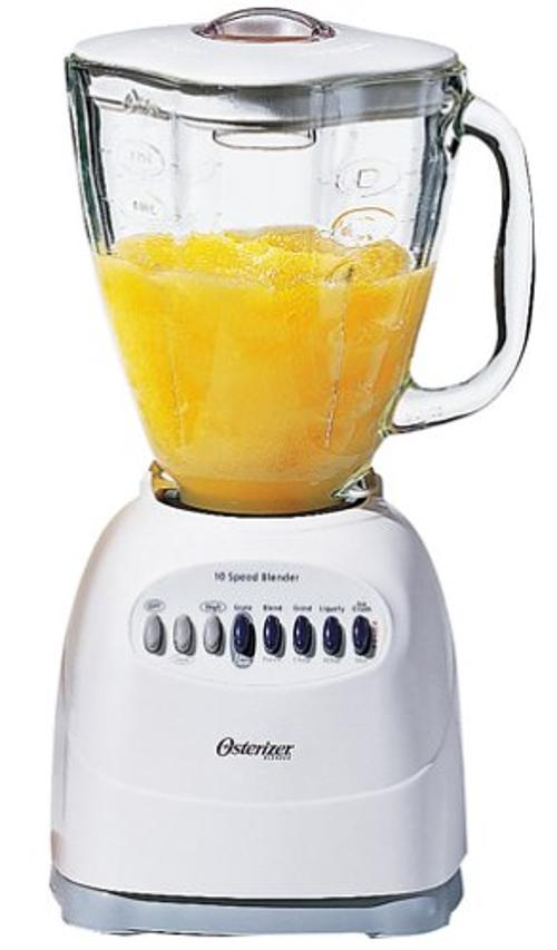 10-Speed Blender, White by Oster in Pain & Gain