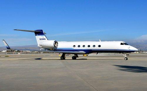 G150 Plane by Gulfstream in Taken 3
