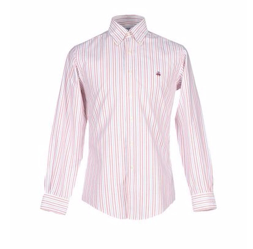 Stripe Shirt by Brooks Brothers in Urge