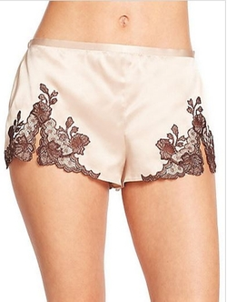 Lillian Silk Tap Shorts by Josie Natori in Billions