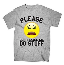 Please Don't Make Me Do Stuff Tee by JCPenney in Black-ish