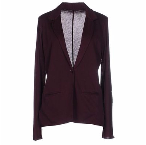 Single Breasted Blazer by Majestic in Guilt