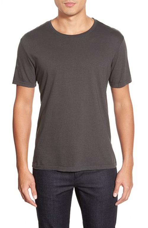 Basic Cotton Crewneck T-Shirt by Michael Stars in How To Get Away With Murder - Season 2 Episode 7