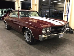 1970 Chevelle SS Coupe by Chevrolet in John Wick: Chapter 2