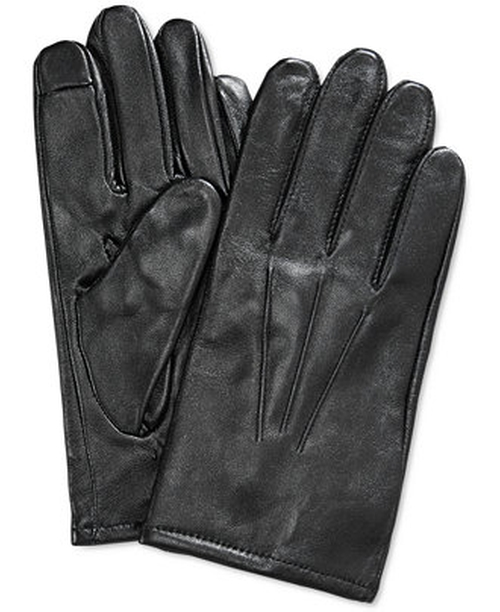 Leather Gloves by Club Room in Victor Frankenstein