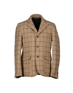 Checked Design Blazer by Woolrich in Triple 9