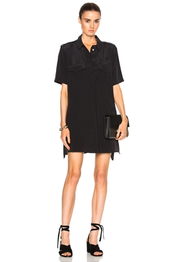 Short Sleeve Major Dress by Equipment in Billions