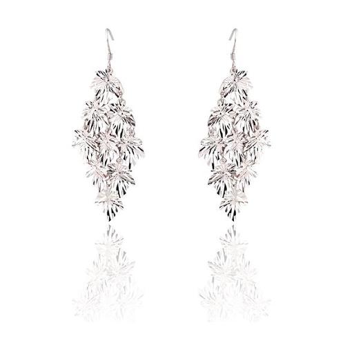 Diamond Shape Drop Earrings by JewelCool - Spirelle in Mean Girls