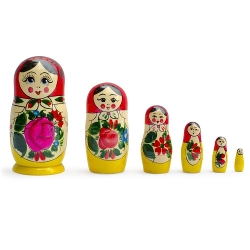 Semenov Wooden Russian Nesting Dolls Matryoshka by BestPysanky in Me and Earl and the Dying Girl