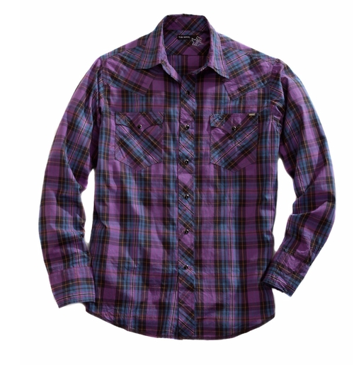 Plaid Tin Haul Collection Shirt by Tin Haul in The Ranch