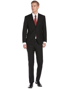 Wool Two-Button Suit by Z Zegna in Quantico