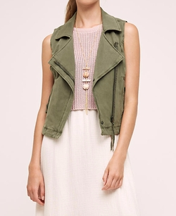 Knit Moto Vest by Marrakech in The Flash
