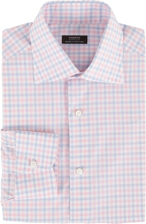 Plaid Fitted Shirt by Fairfax in The Best of Me