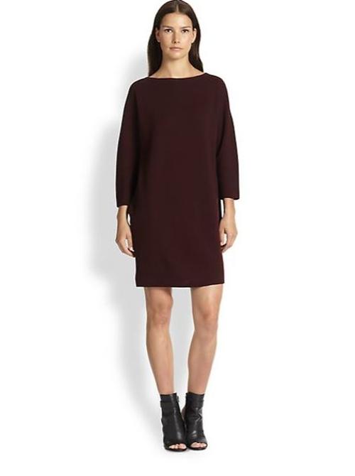 Silken-Back Wool Sweater Dress by Vince in Before I Wake