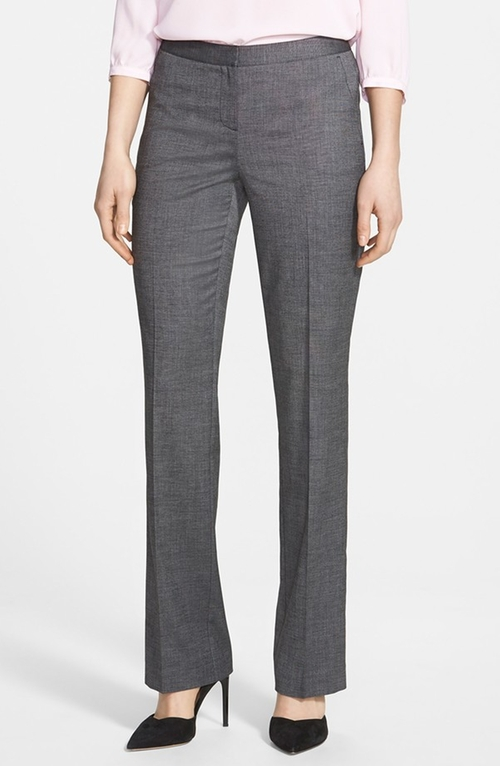'Taylor' Crosshatch Suiting Pants by Halogen in Mr. & Mrs. Smith