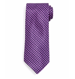 Basketweave-Pattern Silk Tie by Stefano Ricci in Empire