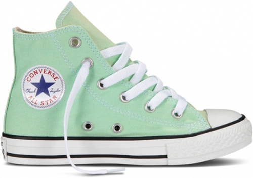 Chuck Taylor Hi Top Sneakers - Peppermint by Converse in Poltergeist