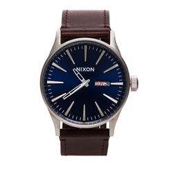 The Sentry Leather Strap Watch by Nixon in Jane the Virgin