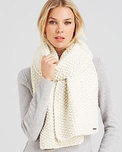 Thermal Popcorn Scarf - Bloomingdale's Exclusive by Michael Kors in New Year's Eve