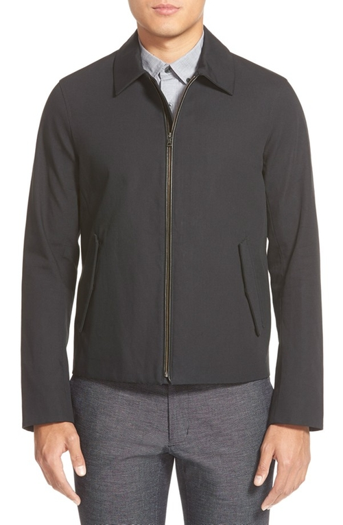Bonded Cotton Jacket by Vince in The Mindy Project