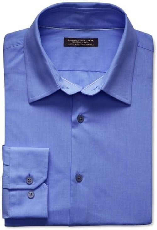 Royal Oxford Regular Fit Dress Shirt by David Donahue in Crazy, Stupid, Love.