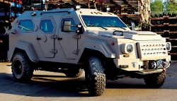 Gurkha LAPV Armored Truck by Terradyne Armored Vehicles Inc. in Fast Five