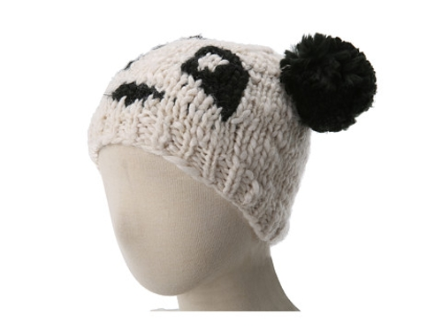 Panda Pom Beanie Hat by San Diego Hat Company Kids in No Escape