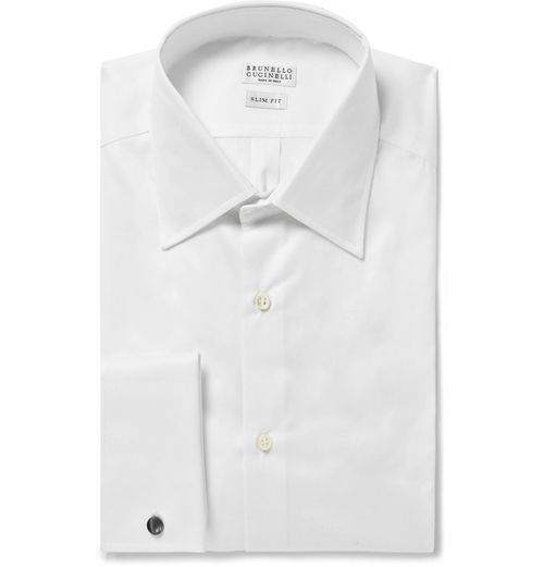 White Cotton Shirt by Brunello Cucinelli in The Big Lebowski