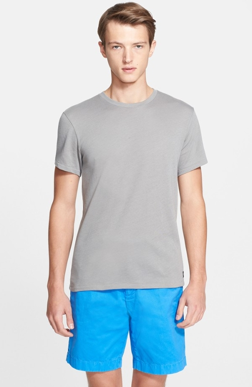 'Lawrence' Cotton Crewneck T-Shirt by Jack Spade in Fight Club