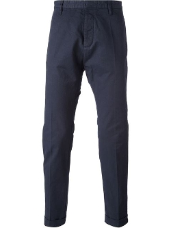 Slim Fit Chino Pants by Dsquared2 in Twilight